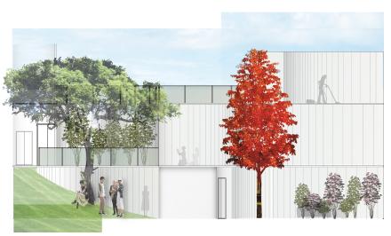 [Design Studio] Apartment Elevation - Day View
